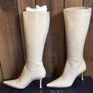 Jimmy Choo Tall Boots W/Original Box & Dust Bag